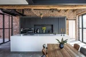 moderne leefkeuken Goergen Keukens