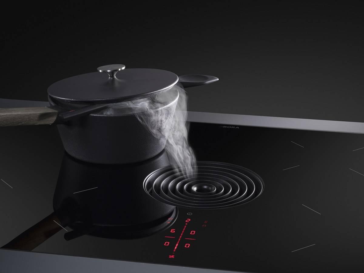 Een Bora kookplaat